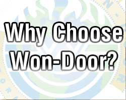 sliding fire door - Why Choose Won-Door?