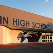 Joplin High School After Won-Door